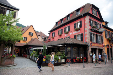 General view of the Le Chambard Hotel in Kaysersberg-Vignoble