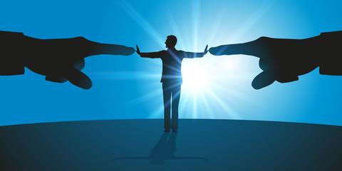 harcèlement - stress - conflit - leadership - montrer du doigt - refuser - rejeter - rejet - résister