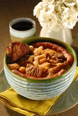 Cassoulet french stew