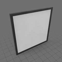 Large hanging picture frame