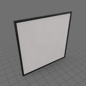Large wall frame