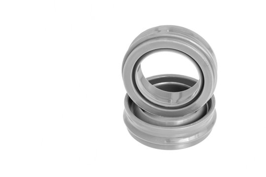 Rubber seal for Industrial on white background.