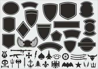 Military patch kit