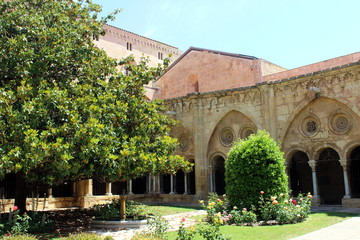 Summer at the Cathedral of Tarragona in Catalunya, Spain