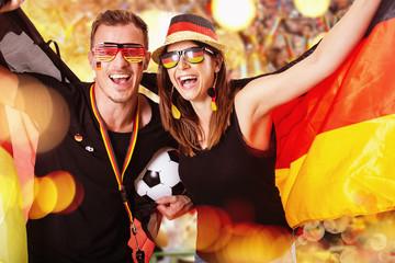 Gruppe Deutschland Fans