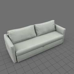 Classic four seater sofa