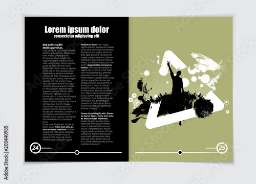 Music Brochure Layout Stock Image And Royalty Free Vector Files On
