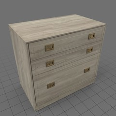 Traditional filing cabinet