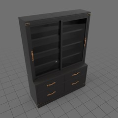Transitional filing cabinet
