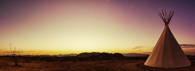 Teepee Panorama