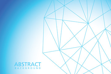 Simple blue abstract vector background for web.