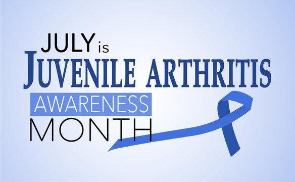July is juvenile arthritis awareness month