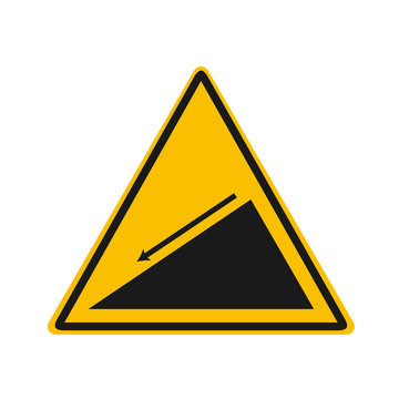 slope warning vector sing