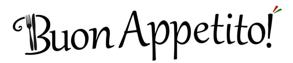 Buon Appetito Italian vector logo