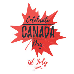 Canada day greeting card