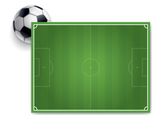 PANNEAU TERRAIN DE FOOTBALL