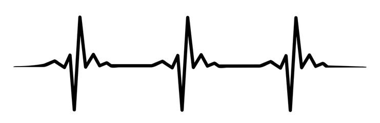 heartbeat #isoliert #vektor - Herzschlag