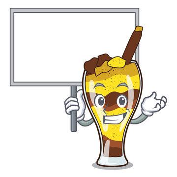 Bring board mangonada fruit character cartoon