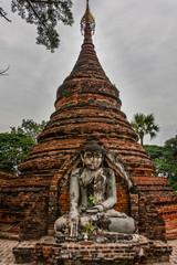 Yandana Sinme Pagoda in Inn Wa, Mandalay, Myanmar