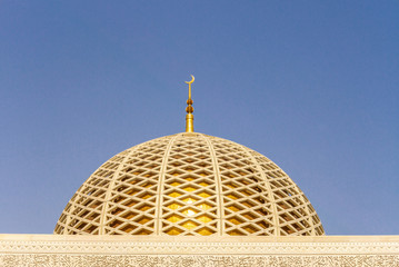 Architectural design detail of the Muscat Grand Mosque - 1