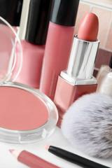 Beauty - cosmetics - natural colors