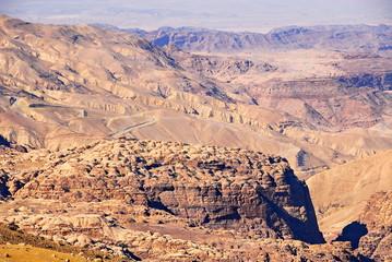 Jordan. Mountains of Wadi Rum Desert