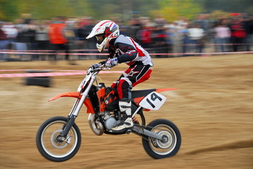 Competitions in motorcycle racing