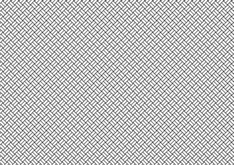 格子縞-黒