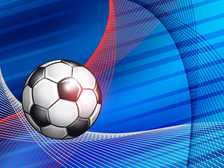 Soccer Championship abstract colorful background.
