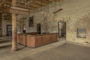 Interior of old prison hospital