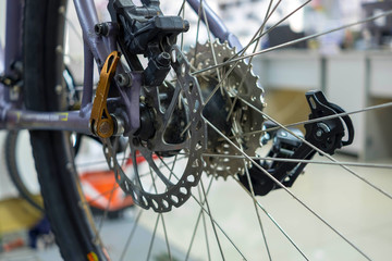 Mountain Bike Rear Cassette