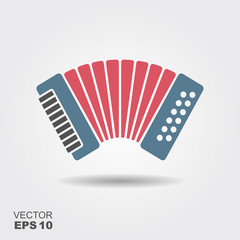 Classical bayan, accordion , harmonic icon