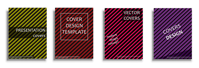 Vector covers collection, design templates