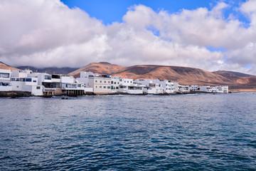 Photo sur Aluminium Pôle Landscape in Tropical Volcanic Canary Islands Spain