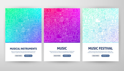 Music Flyer Concepts