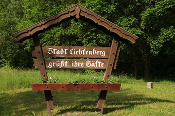 Wilkommen in Ritterstadt Stadt Lichtenberg
