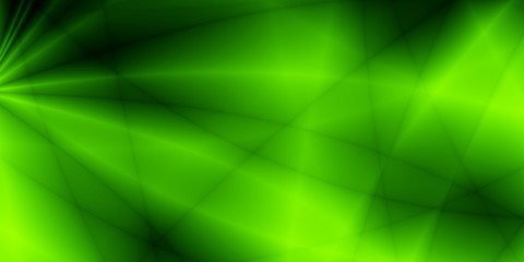 Green wide screen nature abstract pattern design