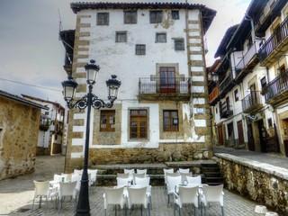Candelario, pueblo de Salamanca en Castilla y León, España