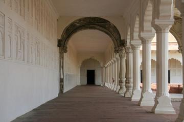 Shish Mahal (Glass Palace), Agra Fort, Agra, India