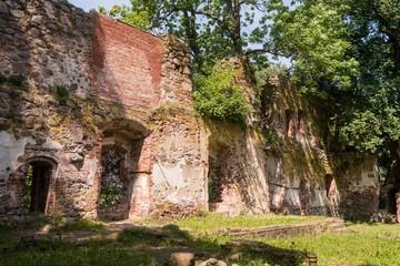 Schloss Putzar - Ulrichsbau - Innenansicht - Blick nach Westen