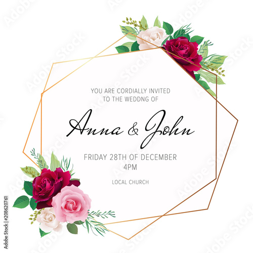 54c77c8edb37 Wedding floral invite