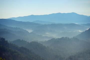 Smoky Mountains at Daybreak