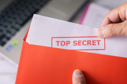 Industrial espionage Top Secret