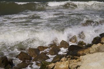 Black Sea in Constanta, Romania