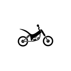Motorcycle icon vector isolated icon