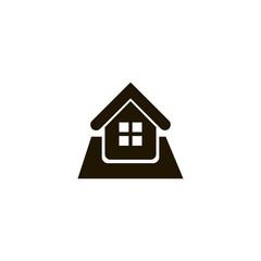 home icon. flat icon