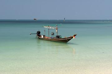Boat to fish squid, Thailand