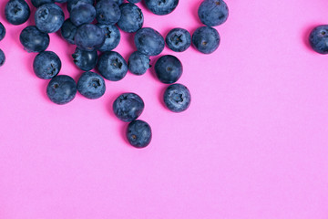 голубика, летний фон, витамины