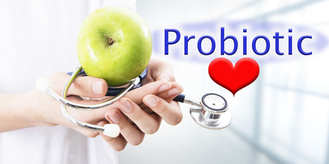 probiotic feeding concept