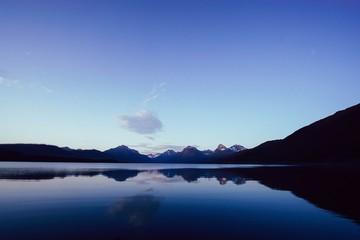 Lake Mcdonald at sunset